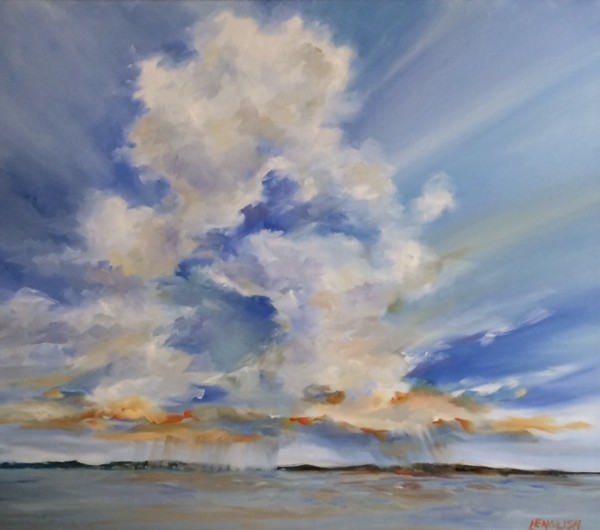 marsh-sky